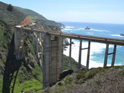 Bixby Bridge mit Hurricane Point